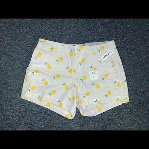 old navy 3.5 inch shorts